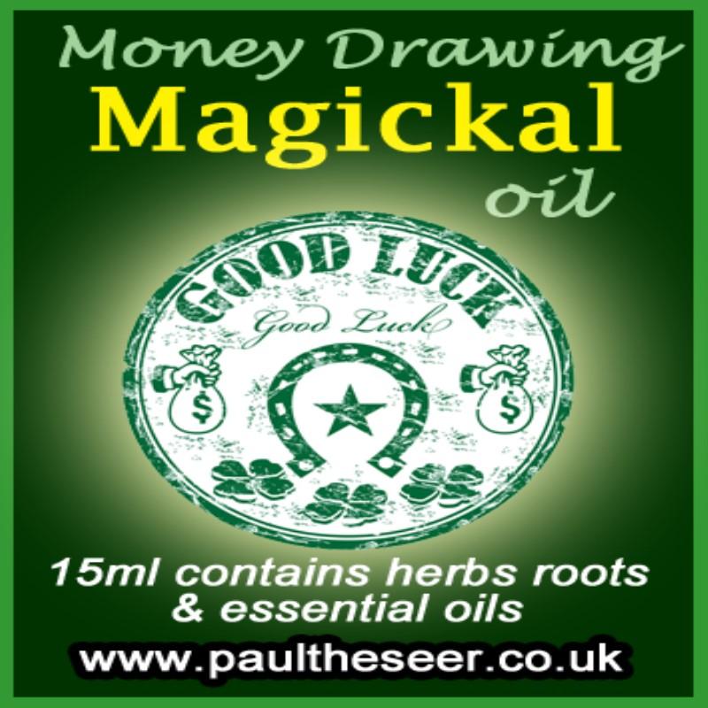 Money Attraction Magick Oil